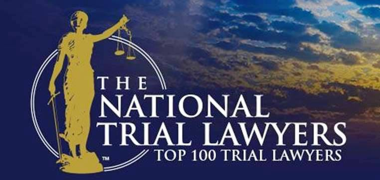 Brian Walker was named to the Top 100 Trial Lawyers list by The National Trial Lawyers Association.
